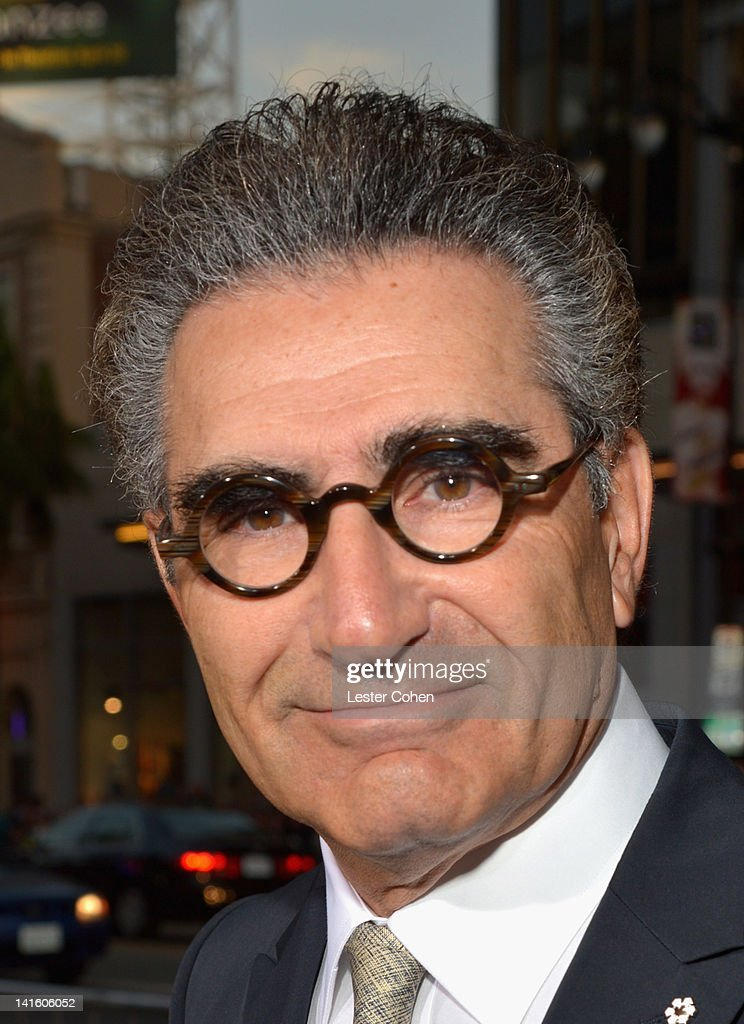 Actor Eugene Levy arrives at the 'American Reunion' Los Angeles Premiere March 19 2012 in Hollywood California