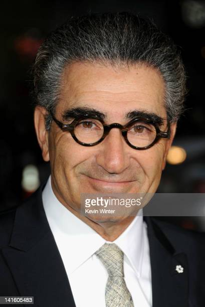 Actor Eugene Levy arrives at the premiere of Universal Pictures' 'American Reuinion' at Grauman's Chinese Theatre on March 19 2012 in Hollywood...