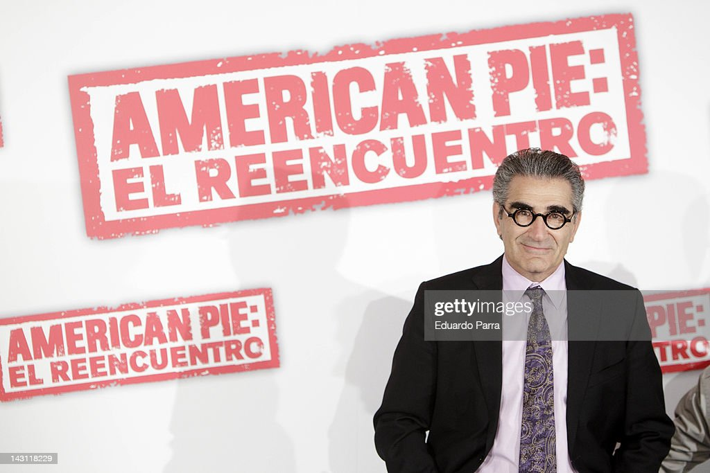 Reunion' (American Pie: El Reencuentro) photocall at Villamagna Hotel on April 19, 2012 in Madrid, Spain.