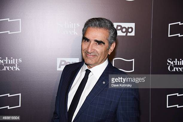Actor Eugene Levy attends the 11th Annual New York Television Festival 'Shitt's Creek' Screening at SVA Theater on October 22 2015 in New York City