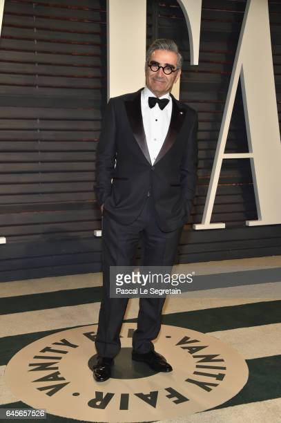 Actor Eugene Levy attends the 2017 Vanity Fair Oscar Party hosted by Graydon Carter at Wallis Annenberg Center for the Performing Arts on February 26...
