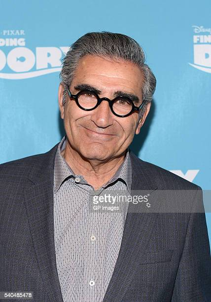 Actor Eugene Levy attends the 'Finding Dory' advanced screening at Cineplex Cinemas YongeDundas on June 15 2016 in Toronto Canada