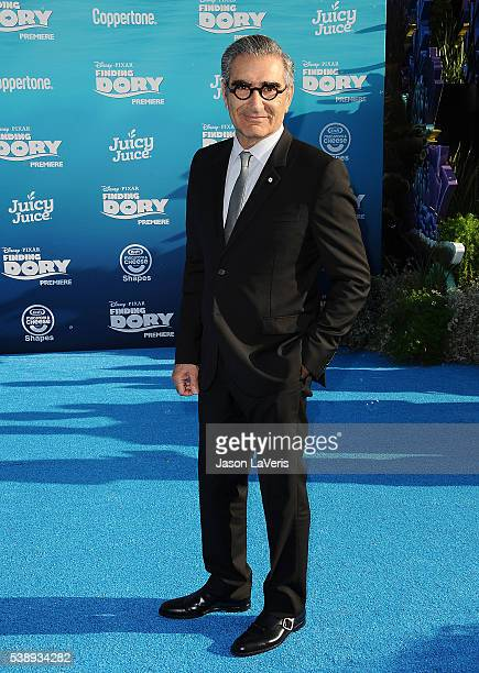 Actor Eugene Levy attends the premiere of 'Finding Dory' at the El Capitan Theatre on June 8 2016 in Hollywood California