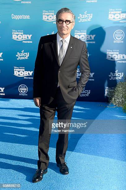 Actor Eugene Levy attends the world premiere of DisneyPixar's 'Finding Dory' at the El Capitan Theatre on June 8 2016 in Hollywood California