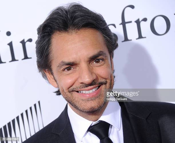 Actor Eugenio Derbez arrives at the premiere of Columbia Pictures' 'Miracles From Heaven' at ArcLight Hollywood on March 9 2016 in Hollywood...