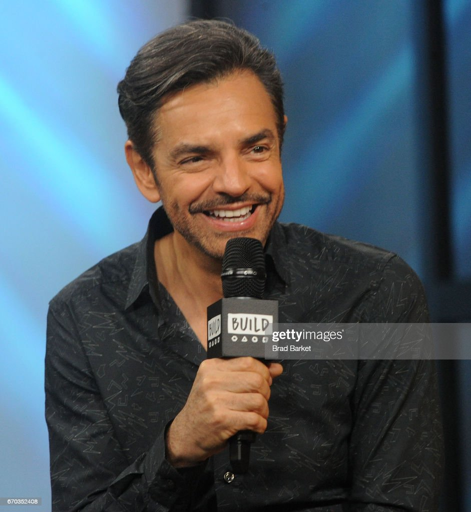 Actor Eugenio Derbez Attends The Build Series To Discuss His New Film 'how  To Be