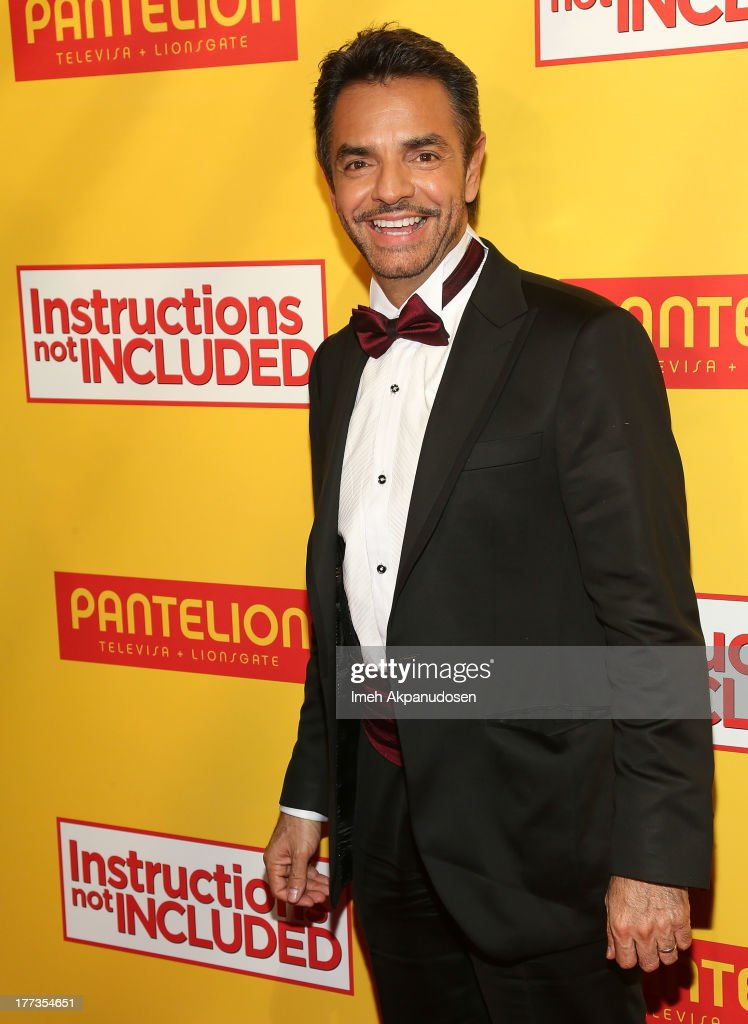 Actor <a gi-track='captionPersonalityLinkClicked' href=/galleries/search?phrase=Eugenio+Derbez&family=editorial&specificpeople=580445 ng-click='$event.stopPropagation()'>Eugenio Derbez</a> attends the premiere of Pantelion Films' 'Instructions Not Included' at TCL Chinese Theatre on August 22, 2013 in Hollywood, California.