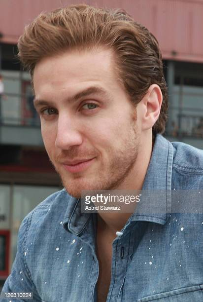 Actor Eugenio Siller attends the 2011 Telemundo Club De Noveleras Tour at South Street Seaport on September 24 2011 in New York City