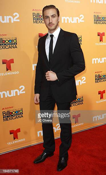 Actor Eugenio Siller attends the 2012 Billboard Mexican Music Awards Telemundo Official After Party at The Edison on October 18 2012 in Los Angeles...