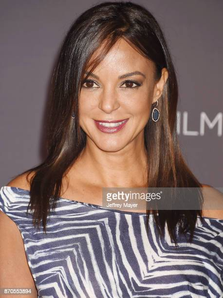 Actor Eva LaRue attends the 2017 LACMA Art Film Gala Honoring Mark Bradford and George Lucas presented by Gucci at LACMA on November 4 2017 in Los...
