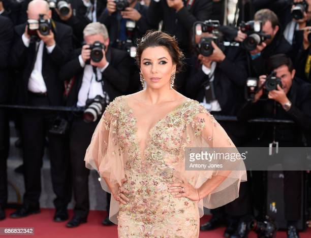 Actor Eva Longoria attends the 'The Killing Of A Sacred Deer' screening during the 70th annual Cannes Film Festival at Palais des Festivals on May 22...