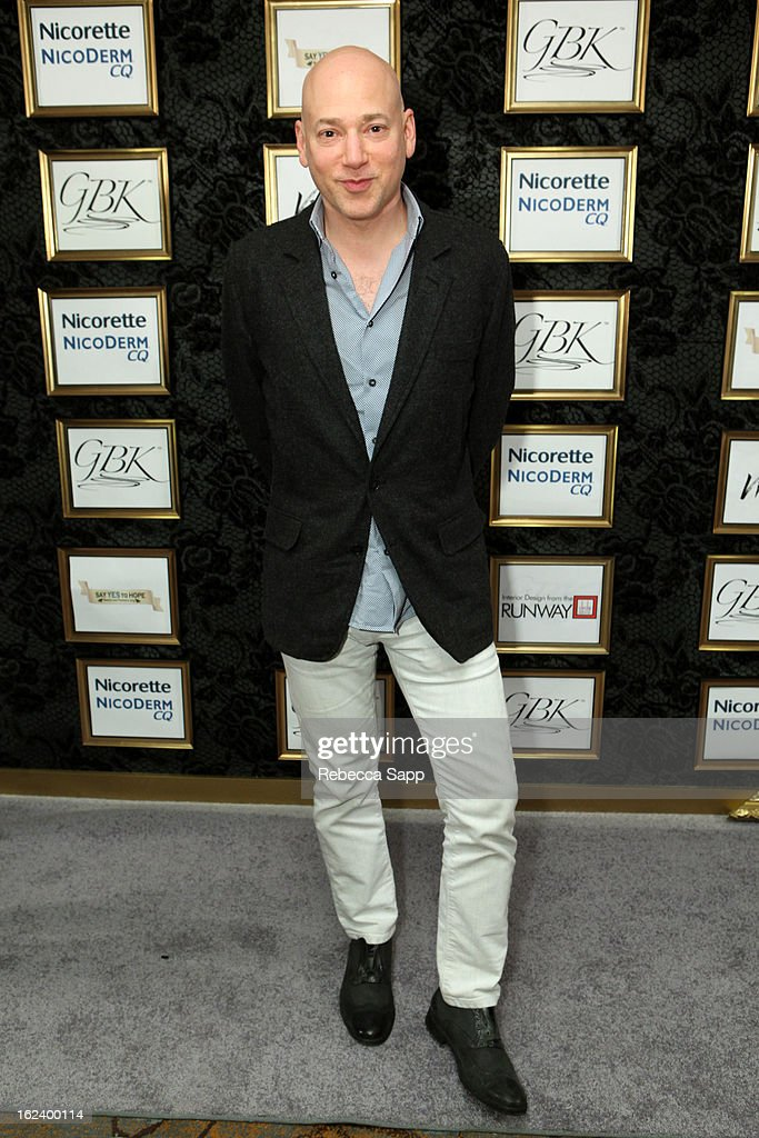 Actor <a gi-track='captionPersonalityLinkClicked' href=/galleries/search?phrase=Evan+Handler&family=editorial&specificpeople=744996 ng-click='$event.stopPropagation()'>Evan Handler</a> at GBK's Oscars Gift Lounge 2013 - Day 1 at Sofitel Hotel on February 22, 2013 in Los Angeles, California.