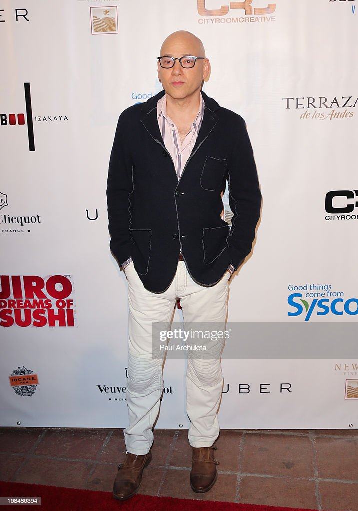 Actor <a gi-track='captionPersonalityLinkClicked' href=/galleries/search?phrase=Evan+Handler&family=editorial&specificpeople=744996 ng-click='$event.stopPropagation()'>Evan Handler</a> attends the Grand Opening of Bamboo Izakaya Restaurant at the Bamboo Izakaya Restaurant on May 9, 2013 in Santa Monica, California.
