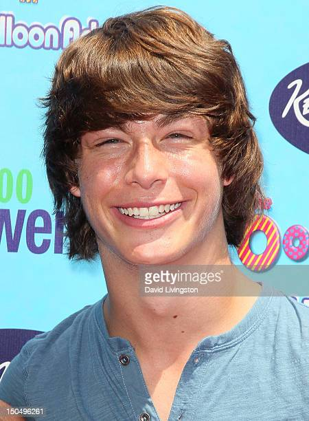 Actor Evan Hofer attends the premiere of 'The Oogieloves in the Big Balloon Adventure' at Grauman's Chinese Theatre on August 19 2012 in Hollywood...