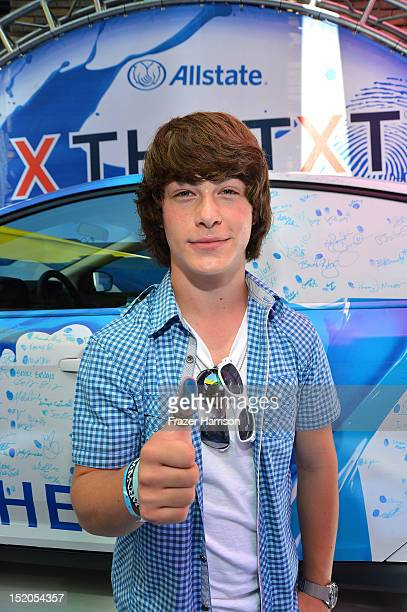 Actor Evan Hofer attends Variety's Power of Youth presented by Cartoon Network held at Paramount Studios on September 15 2012 in Hollywood California