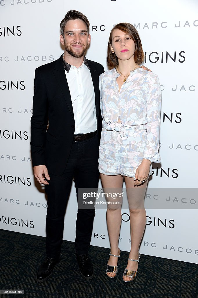 Actor Evan Jonigkeit and Actress <a gi-track='captionPersonalityLinkClicked' href=/galleries/search?phrase=Zosia+Mamet&family=editorial&specificpeople=7439328 ng-click='$event.stopPropagation()'>Zosia Mamet</a> attend the 'I Origins' screening at Sunshine Landmark on July 10, 2014 in New York City.