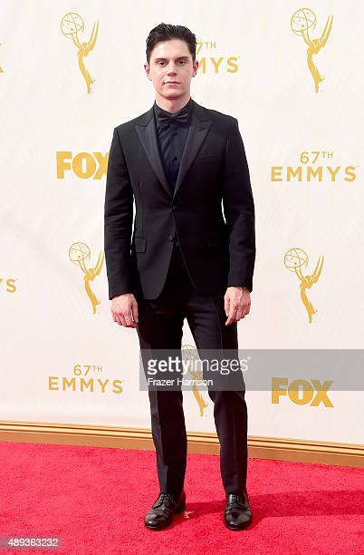 Actor Evan Peters attends the 67th Annual Primetime Emmy Awards at Microsoft Theater on September 20 2015 in Los Angeles California