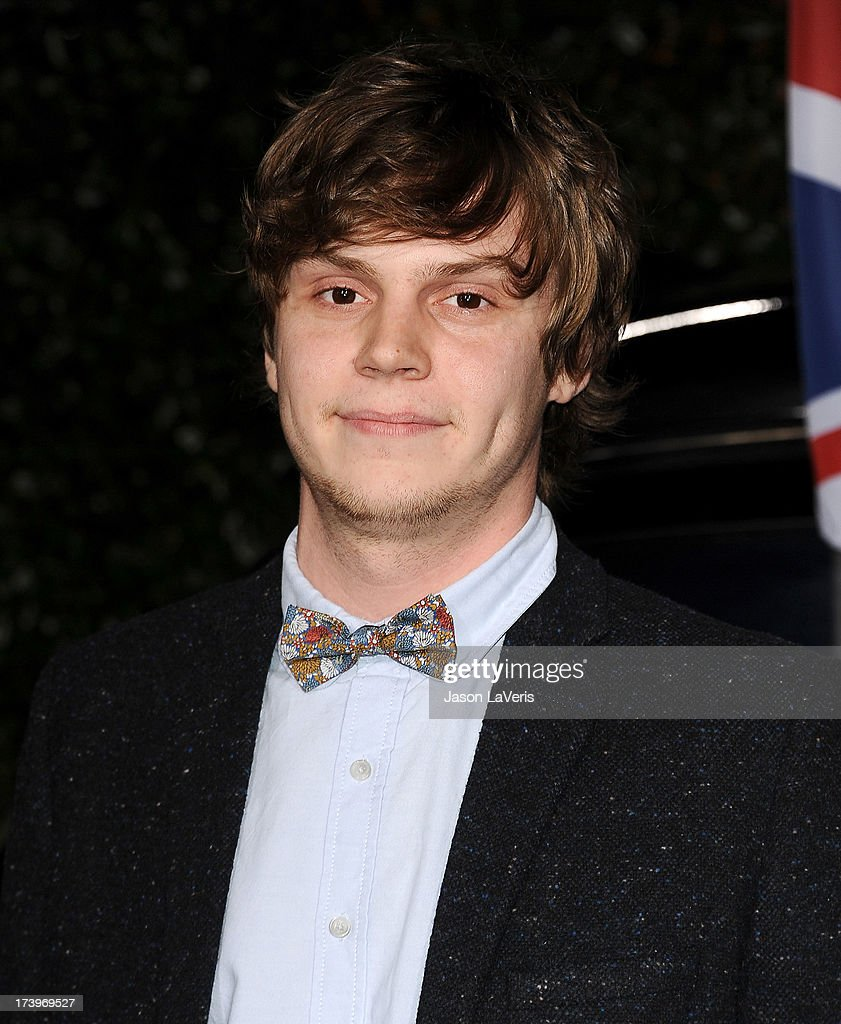 Actor <a gi-track='captionPersonalityLinkClicked' href=/galleries/search?phrase=Evan+Peters&family=editorial&specificpeople=2301160 ng-click='$event.stopPropagation()'>Evan Peters</a> attends the Topshop Topman LA flagship store opening party at Cecconi's Restaurant on February 13, 2013 in Los Angeles, California.