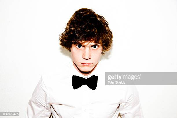 Actor Evan Peters is photographed for Self Assignment on June 1 2012 in Los Angeles California
