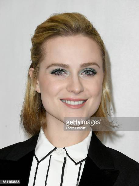 Actor Evan Rachel Wood at Bottega Veneta Hosts Hammer Museum Gala In The Garden on October 14 2017 in Westwood California