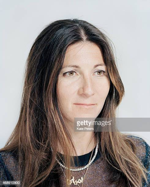 Actor Eve Best is photographed for the Telegraph on May 13 2013 in London England