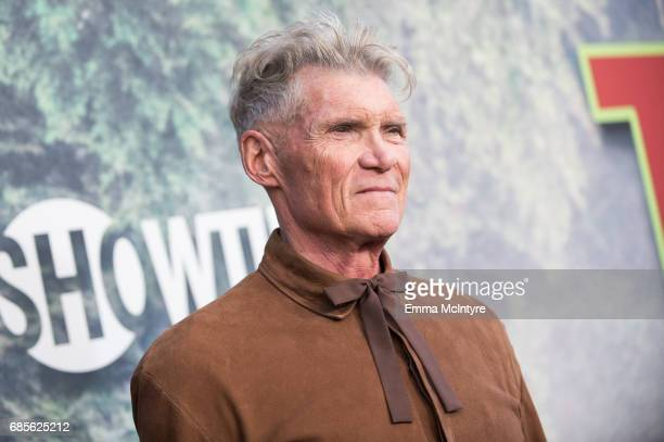 Actor Everett McGill attends the premiere of Showtime's 'Twin Peaks' at The Theatre at Ace Hotel on May 19 2017 in Los Angeles California