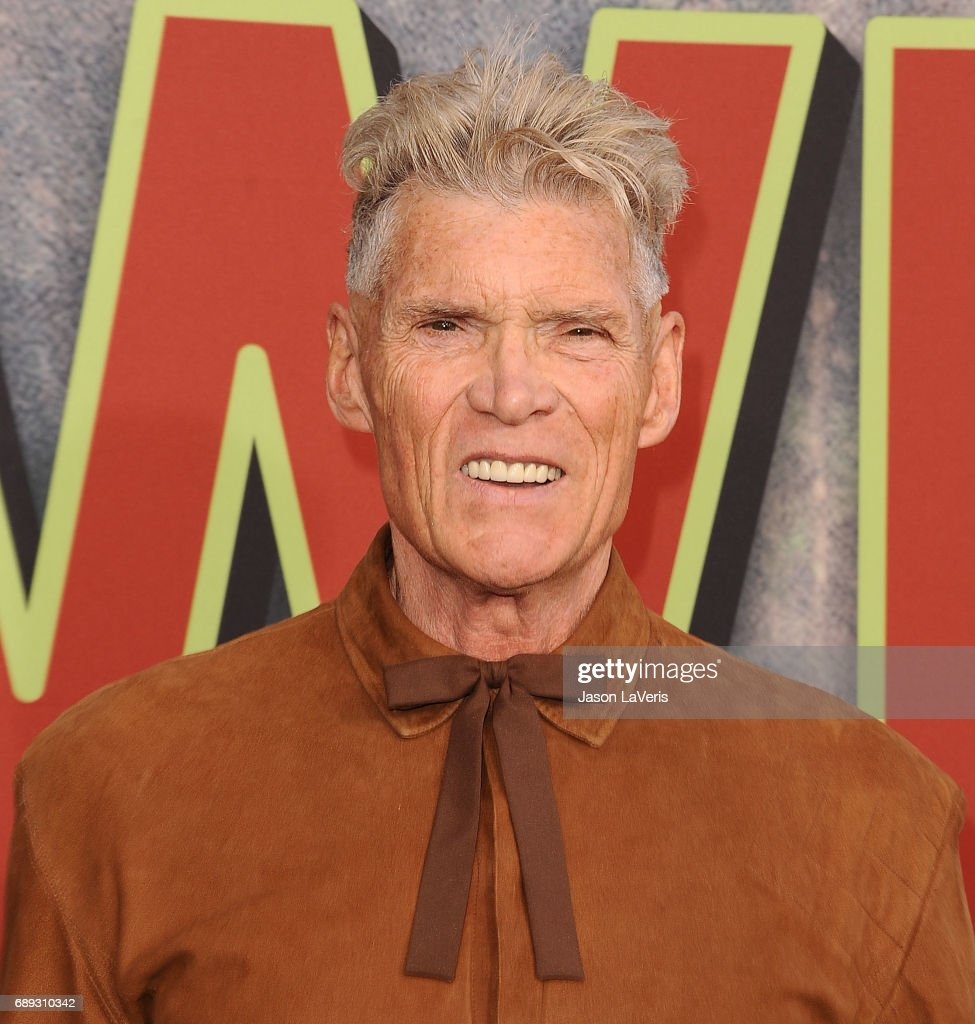 Actor Everett McGill attends the premiere of 'Twin Peaks' at Ace Hotel on May 19, 2017 in Los Angeles, California.