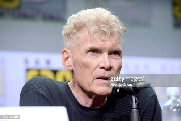 Actor Everett McGill attends 'Twin Peaks A Damn Good Panel' during ComicCon International 2017 at San Diego Convention Center on July 21 2017 in San...