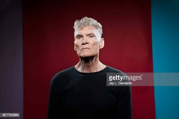 Actor Everett McGill from the television series 'Twin Peaks' is photographed in the LA Times photo studio at ComicCon 2017 in San Diego CA on July 21...