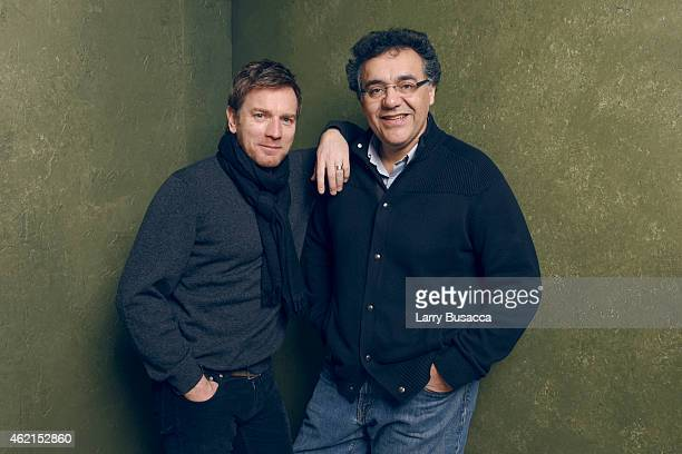 Actor Ewan McGregor and director/writer Rodrigo Garcia of 'Last Days in the Desert' pose for a portrait at the Village at the Lift Presented by...
