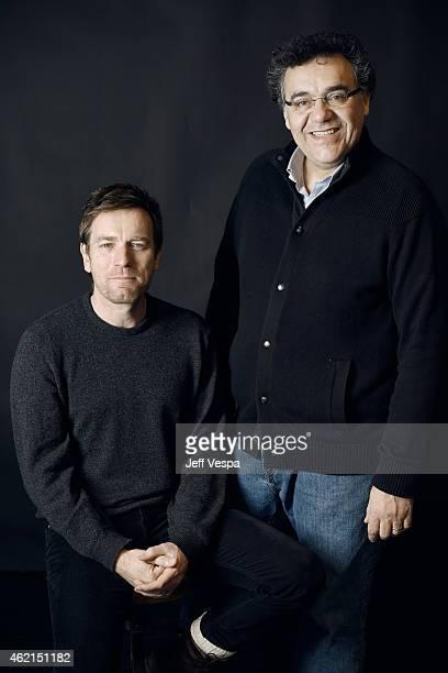 Actor Ewan McGregor and filmmaker Rodrigo García of 'Rodrigo Garcia' pose for a portrait at the Village at the Lift Presented by McDonald's McCafe...