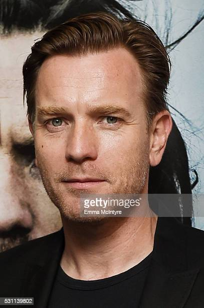 Actor Ewan McGregor arrives at a screening of Broad Green Pictures' 'Last Days In The Desert' at the Laemmle Royal Theatre on May 12 2016 in Santa...