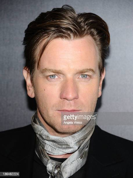 Actor Ewan McGregor arrives at Relativity Media's premiere of 'Haywire' cohosted by Playboy held at DGA Theater on January 5 2012 in Los Angeles...