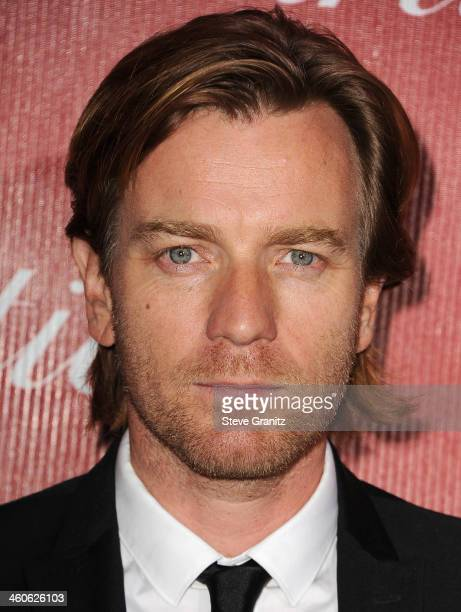Actor Ewan McGregor arrives at the 25th annual Palm Springs International Film Festival awards gala at Palm Springs Convention Center on January 4...