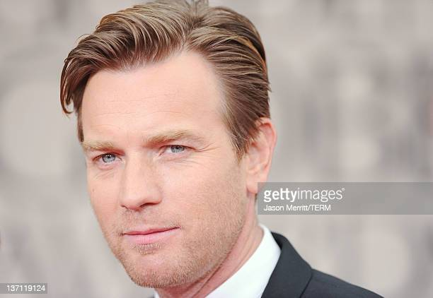 Actor Ewan McGregor arrives at the 69th Annual Golden Globe Awards held at the Beverly Hilton Hotel on January 15 2012 in Beverly Hills California