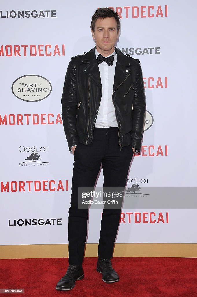 Actor <a gi-track='captionPersonalityLinkClicked' href=/galleries/search?phrase=Ewan+McGregor&family=editorial&specificpeople=202863 ng-click='$event.stopPropagation()'>Ewan McGregor</a> arrives at the Los Angeles premiere of 'Mortdecai' at TCL Chinese Theatre on January 21, 2015 in Hollywood, California.