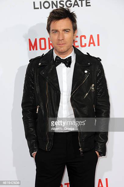 Actor Ewan McGregor arrives for the Premiere Of Lionsgate's 'Mortdecai' held at TCL Chinese Theatre on January 21 2015 in Hollywood California