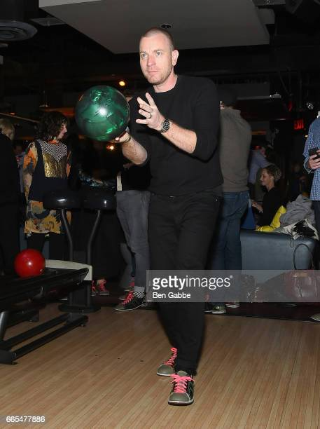 Actor Ewan McGregor attends 8th Annual FX AllStar bowling party at Lucky Strike on April 6 2017 in New York City
