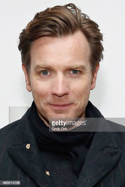 Actor Ewan McGregor attends a special screening of 'SON OF A GUN' with director Julius Avery and Ewan McGregor at Crosby Hotel on December 15 2014 in...
