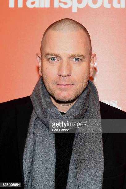 Actor Ewan McGregor attends a TriStar and Cinema Society screening of 'T2 Trainspotting' at Landmark Sunshine Cinema on March 14 2017 in New York City
