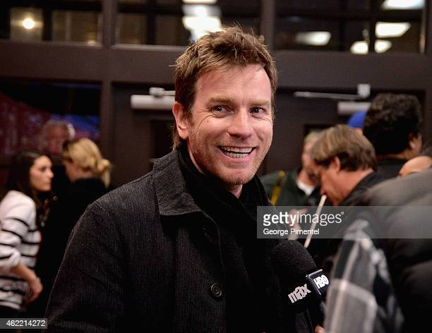 Actor Ewan McGregor attends 'Last Days In The Desert' Premiere during the 2015 Sundance Film Festival at the Eccles Center Theatre on January 25 2015...
