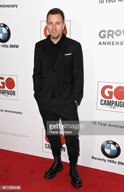 Actor Ewan McGregor attends the 10th Annual GO Campaign Gala at Manuela on November 5 2016 in Los Angeles California