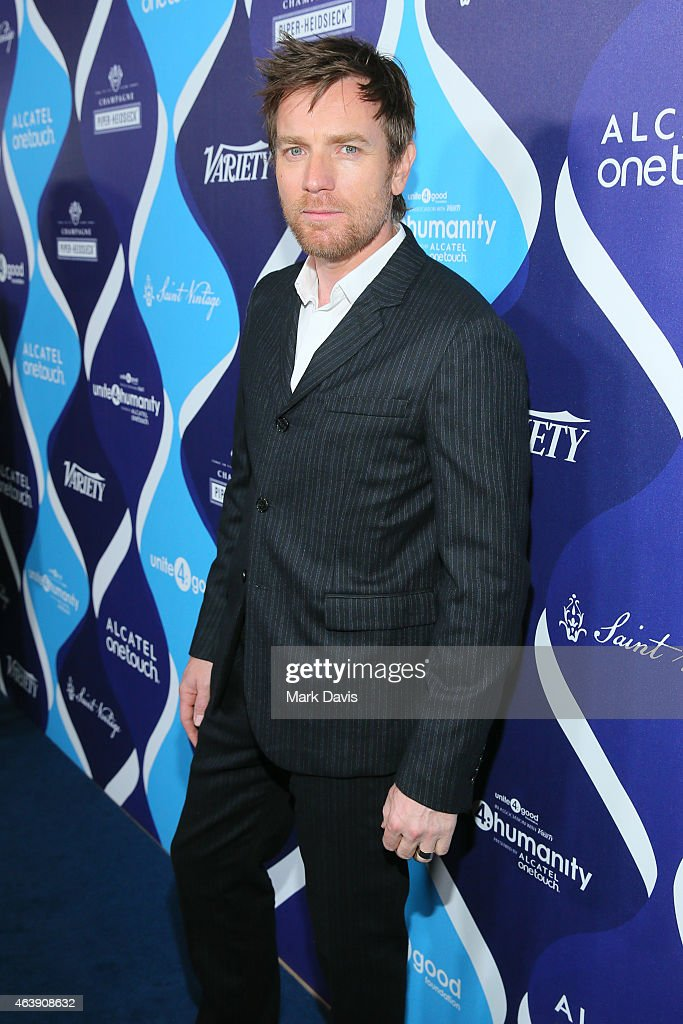 Actor <a gi-track='captionPersonalityLinkClicked' href=/galleries/search?phrase=Ewan+McGregor&family=editorial&specificpeople=202863 ng-click='$event.stopPropagation()'>Ewan McGregor</a> attends the 2nd Annual unite4:humanity presented by ALCATEL ONETOUCH at the Beverly Hilton Hotel on February 19, 2015 in Los Angeles, California.