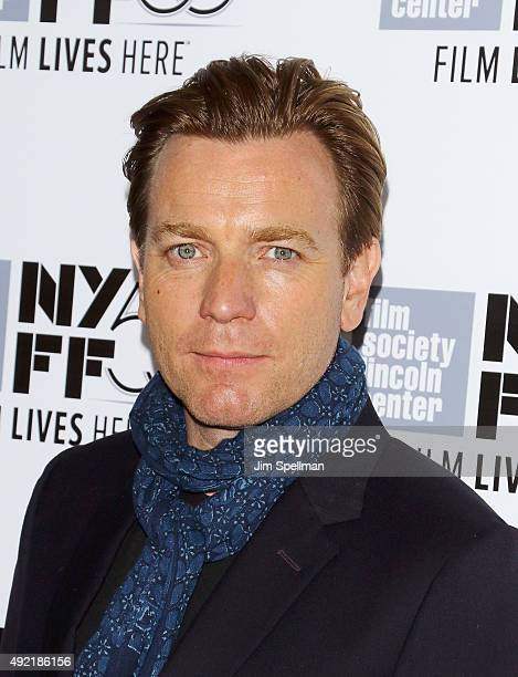 Actor Ewan McGregor attends the 53rd New York Film Festival closing night gala presentation and premiere of 'Miles Ahead' at Alice Tully Hall on...