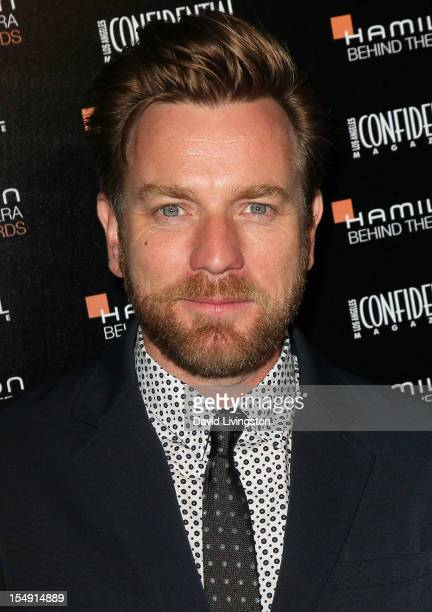 Actor Ewan McGregor attends the 6th Annual 'Hamilton Behind The Camera Awards' presented by Los Angeles Confidential Magazine at the House of Blues...