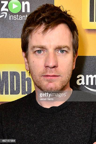 Actor Ewan McGregor attends the IMDb Amazon Instant Video Studio at the village at the lift on January 25 2015 in Park City Utah