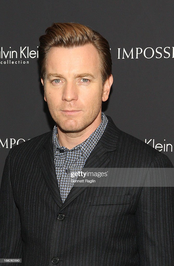 Actor Ewan McGregor attends 'The Impossible' New York Special Screening at Museum of Art and Design on December 12, 2012 in New York City.