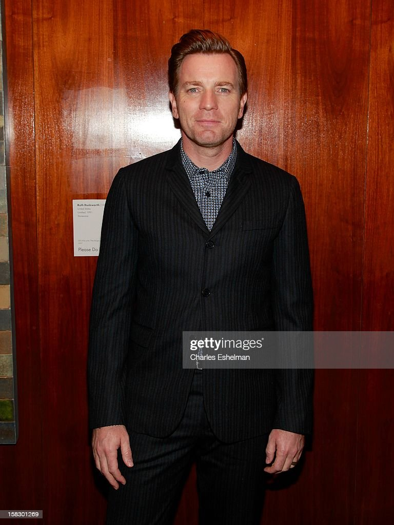 Actor Ewan McGregor attends 'The Impossible' screening at the Museum of Art and Design on December 12, 2012 in New York City.