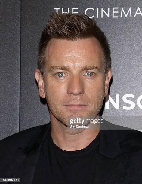 Actor Ewan McGregor attends the screening Of 'American Pastoral' hosted by Lionsgate and Lakeshore Entertainment with Bloomberg Pursuits at Museum of...