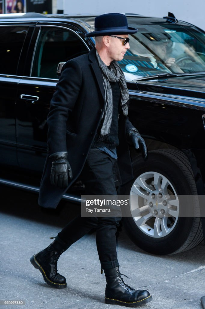 Actor Ewan McGregor enters the 'The Late Show With Stephen Colbert' taping at the Ed Sullivan Theater on March 13, 2017 in New York City.